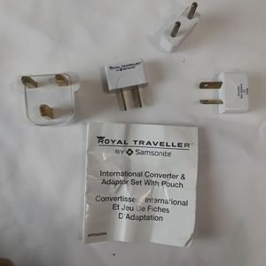 NWT Travel Electric Outlets Adapters